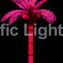 Purple Tiara Coconut Lighted Palm Tree | Products | Pacific Lights Inc.