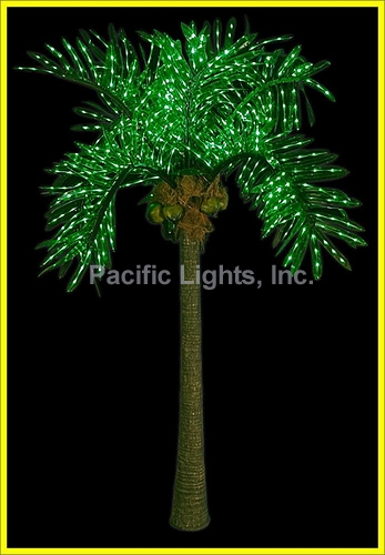 Home lighted trees amp accessories natural led lighted palm tree