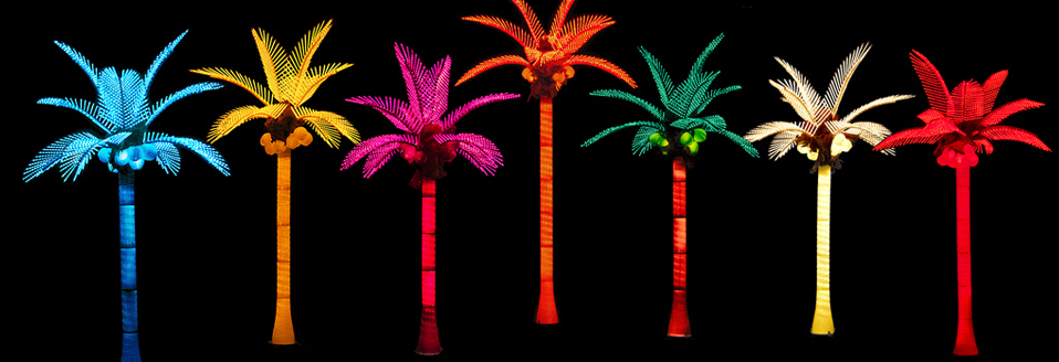 Pacific Lights Inc Led Lighted Palm Trees Buy Factory