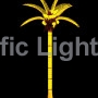 Yellow Tiara Coconut Lighted Palm Tree | Products | Pacific Lights Inc.