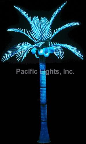Tiara Coconut Lighted Palm Tree Pacific Lights Inc Led