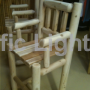 Ontario White Cedar Bistro Chair | Products | Pacific Lights Inc.