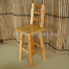Ontario White Cedar Lodge Stool With Back | Products | Pacific Lights Inc.