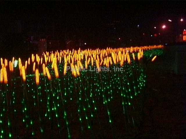 Natural Led Wheat Grass Pacific Lights Inc Led Lighted